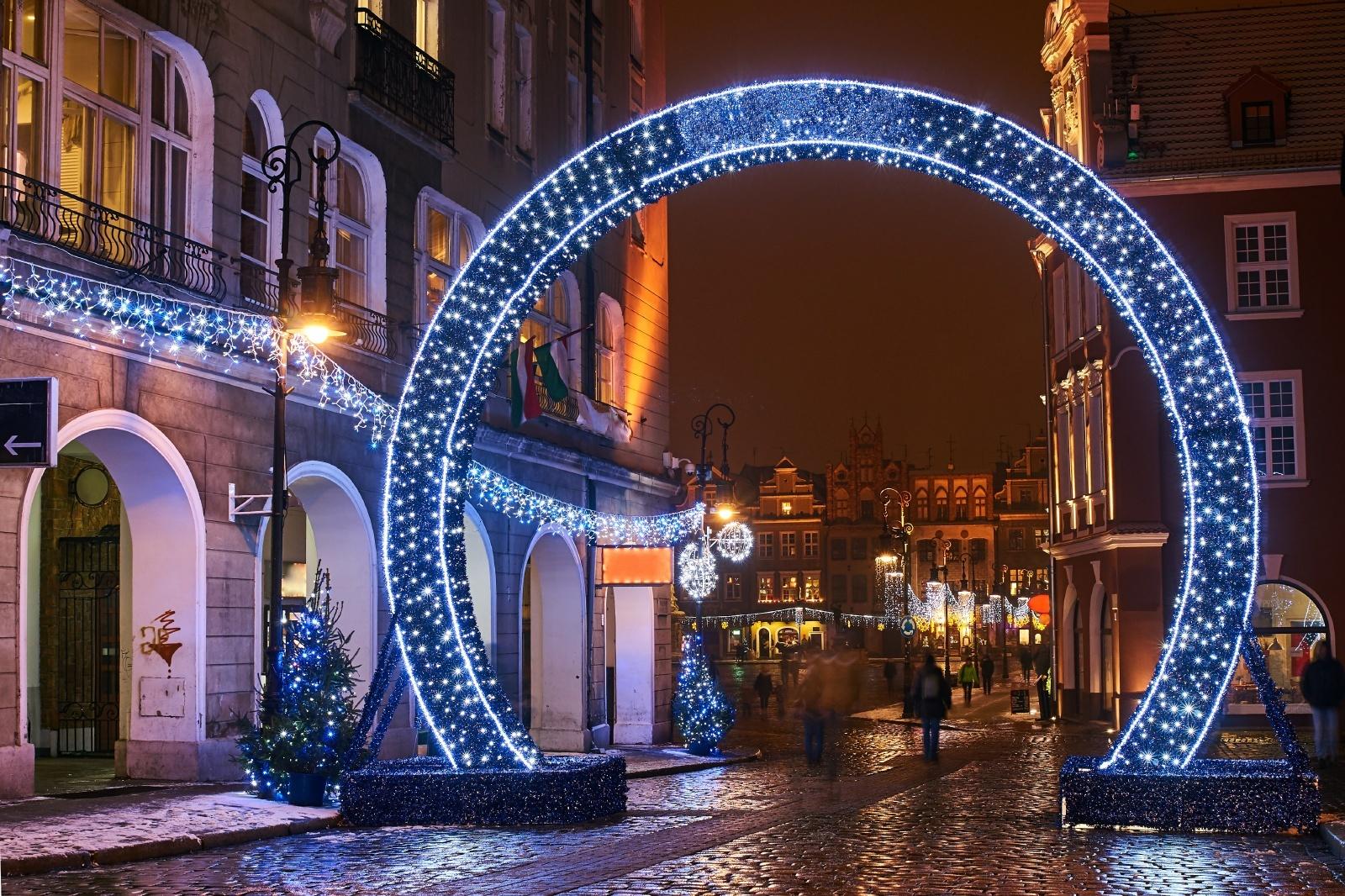 ポーランドのクリスマス風景 ポズナン