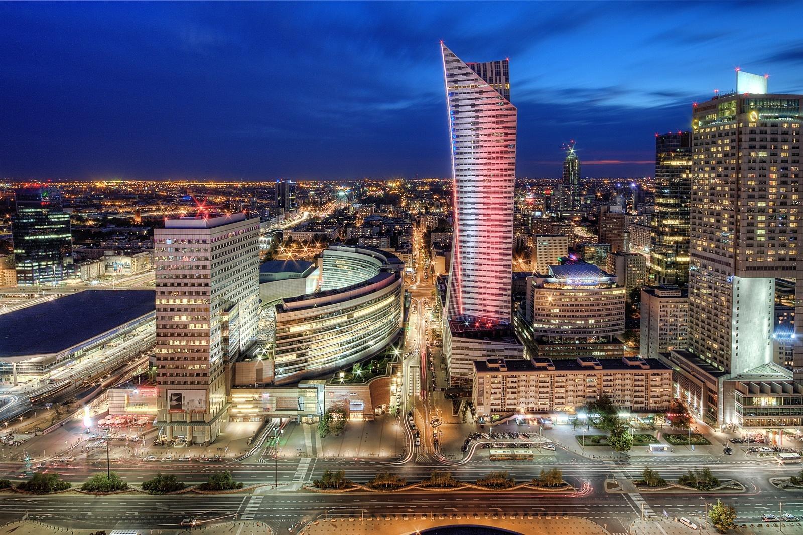 ワルシャワの風景